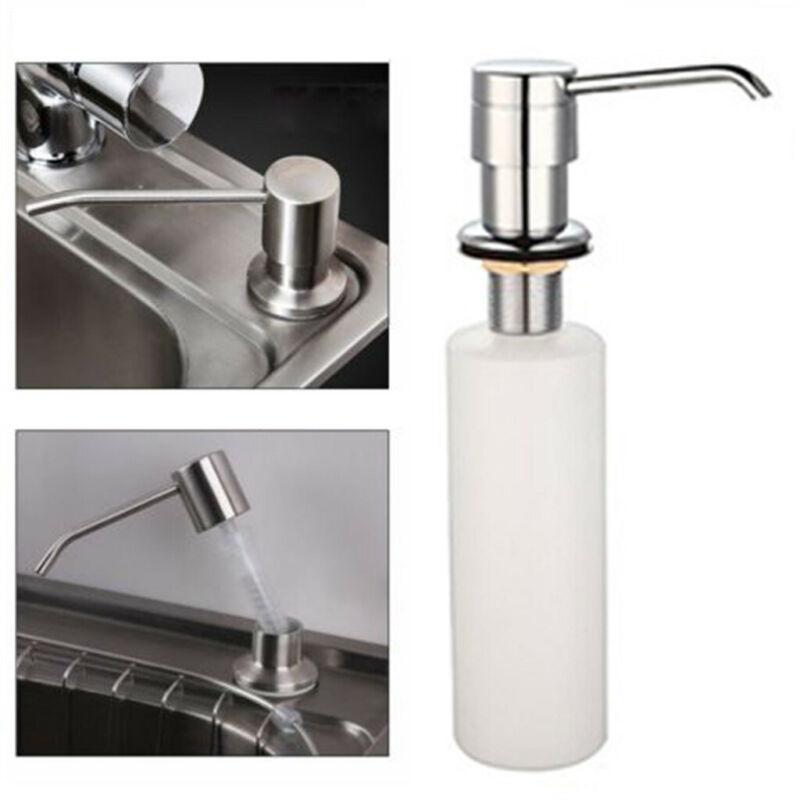 Bathroom Liquid Soap Dispenser Lotion Pump Cover Kitchen Sin
