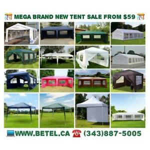 FOR SALE FROM 69!! Brand New Wedding Party Canopy Tents