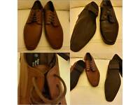 2 pairs of mens shoes