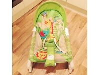 Newborn to toddler fisher price vibrating rocker chair £10
