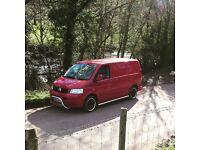VW t5 Camper Van Transporter - 161k Miles - 12Mths MOT - 55 plate - Cambelt changed @ 147k Miles