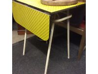 60s dining table