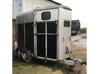 Ifor Williams 505 2 horse trailer