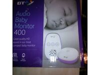 BT BNB Baby monitor and other baby items