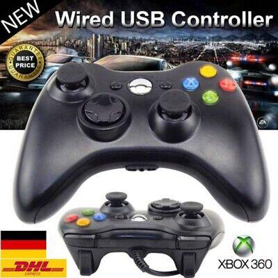 Wired XBOX 360 Controller USB Joypad für XBOX 360 PC Windows Gamepad DHL ()