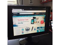 """Samsung T190 19"""" Widescreen LCD TFT Monitor (2ms, Rose Black, 20000:1, DVI with HDCP)"""