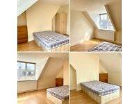 LARGE DOUBLE ROOM AVAILABLE IN HOUSE SHARE. NEWCASTLE UPON TYNE. NO DEPOSITS