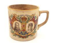 1910-1935 George V Mary Silver Jubilee Mug Cup C&E Ltd Made in England 7cm x 7cm