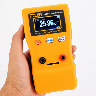 Digital Auto Ranging Capacitance Meter Capacitor Tester 0.01pf To 470000uf Range