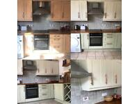 The Kitchen Painting People - Spray Paint Transformation