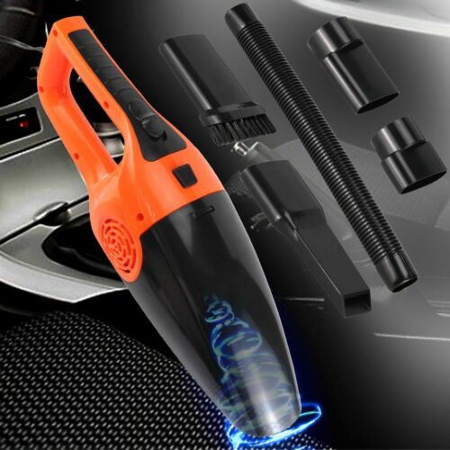 12V Car Vacuum Cleaner Handheld Duster Vac Dry And Wet Sucti