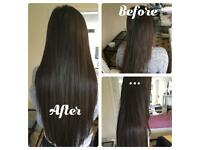 Nano/micro ring hair extensions and micro weave