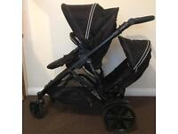 Twin double pushchair baggy BRITAX B-Dual