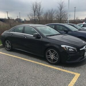 2017 Mercedes benz CLA250 4matic   Lease takeover