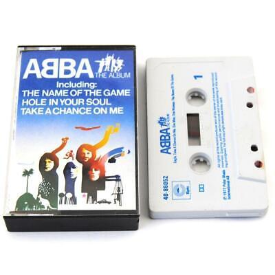 ABBA The Album Cassette Tape Vintage 1977 FREE UK Postage