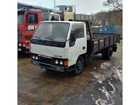 Left hand drive Mitsubishi Canter FE331 3.3 diesel 6 tyres 5.6 ton truck. 4D30 engine.