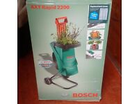 Bosch AXT RAPID 2200 Electric Shredder (NEW - NEVER USED)