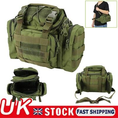Large Capacity Fishing Bag Waterproof Portable Tackle Box Bag Outdoor Camping UK
