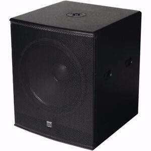 Pick Up only Price - Gemini ZRX-S18P 18 inch with D-Class Amp. 1600 Watt High Performance DJ Powered Subwoofer