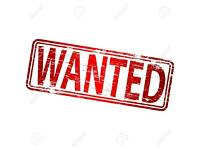 *1 or 2 bed apartment/house wanted*