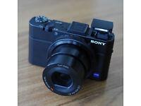SONY CYBER-SHOT DSC-RX100 Mark II M2 20.2MP DIGITAL CAMERA ***PRICE DROP*** £270