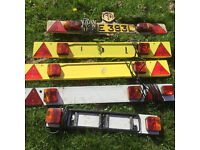 Trailer light board 7 pin 4 ft 1new bike carrier horse box vintage large small classic car