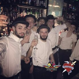 Bartenders & bar-backs for Zigfrid von Underbelly | Shoreditch
