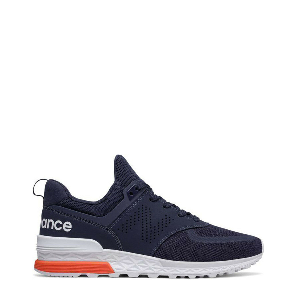 NEW BALANCE SCARPE SNEAKERS MS574PCN BLU BLUE UOMO MAN NUOVE ORIGINALI