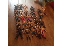 Wwe/www wrestling bundle x 25 figures