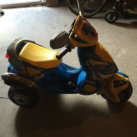 Electric motorbike suitable for ages 3-6
