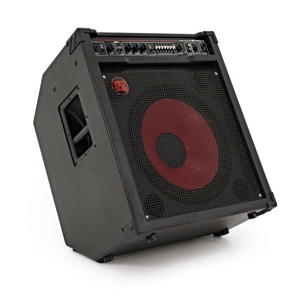 bass guitar amplifier amp 150w red sub 115 1 x 15 speaker bp150plus in southampton hampshire