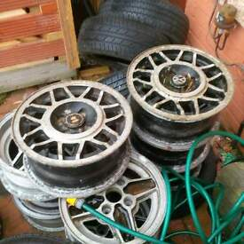 ford and vw wheels