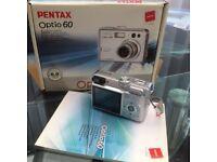 Pentax Optio 60 Digital Camera