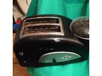 Tefal Toast n Egg 2 Slice Toaster with Egg Poacher