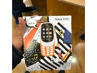 Nokia 3310 black & grey come in box with charger & battery dual sim