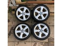 BMW OZ MSW 18'' Inch Alloy Wheels - 225/40 - 5 x 120 - £250 ono