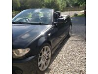 BMW 1.8 M sport convertible