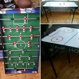 Table Football & Air Hockey