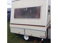 Rapido comfortmatic folding caravan for sale