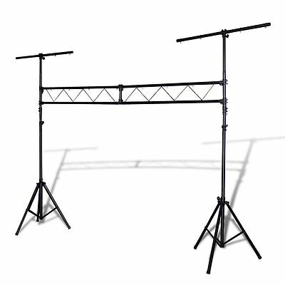 Portable DJ Lighting Truss Stand w/ T-Bar Trussing Stage System 265 lb Steel