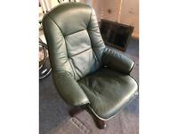 Leather chair - good condition