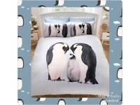 Penguin duvet cover set