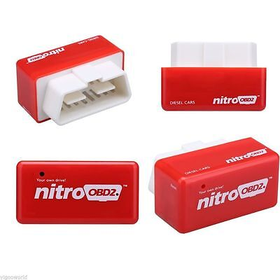 OBD2 Car Performance Tuning Chip Box Plug and Drive FITS Diesel Autos Fuel Saver for sale  USA