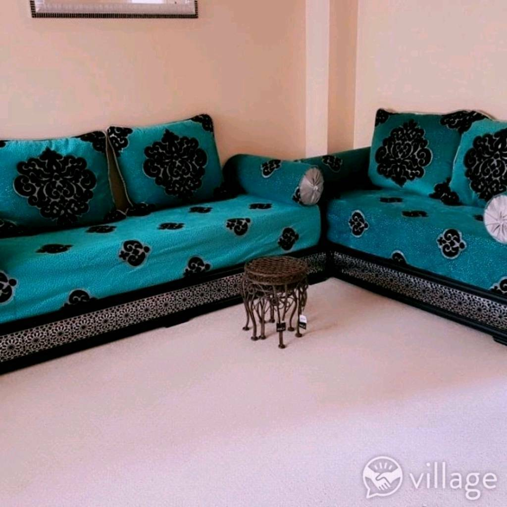 Captivating Moroccan Sofa Salon
