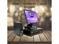 17 Inch Touchscreen EPOS POS Cash Register Till System for Retail, Hospitality, Takeaway and Salon