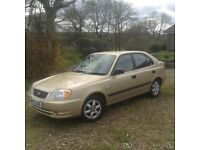 Metallic gold. 03 plate.One lady owner.Genuine 31,500miles. Tax and MOT.