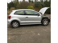 2011 VW POLO 1.2 3DR Damaged repairable