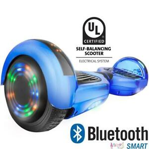 SAFE Hoverboard with warranty UL227 certified, Bluetooth and no fall technology. Why buy a no name hooverboard!