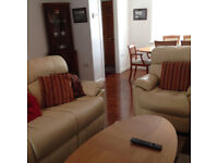 3 bedroom fully furnished house in the centre of town with remote off road parking for one vehicle