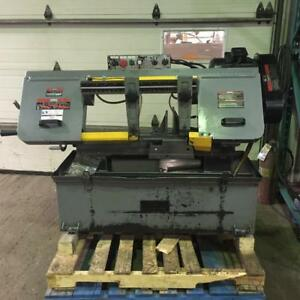"(USED) HORIZONTAL BANDSAW / METAL / KING INDUSTRIAL 10"" x 18"""